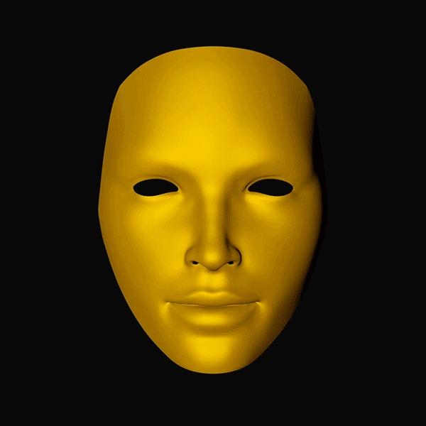 2 вопроса, правильно на которые ответит только шизофреник. Или гений <u>маска</u> тест, шизофрения, гений, вопрос, анимация, воображение, гифка, длиннопост