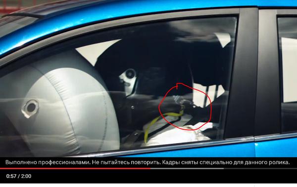 Краш-тест Hyundai Solaris с участием человека. Но честно ли? Авто, Hyundai, Краш-Тест, Реклама, Видео