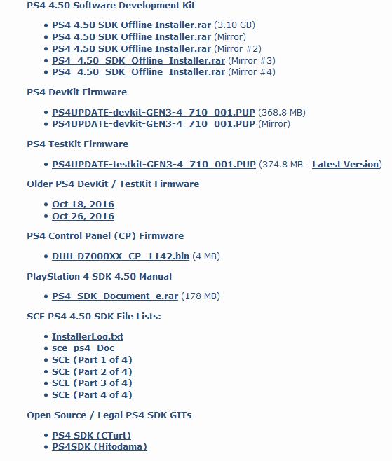 Sony пытается удалить из сети любые упоминания об утекшем официальном SDK для PlayStation 4 sony, playsatation 4, Sony PS4, утечка данных, взлом, PS4 SDK, geektimes, длиннопост