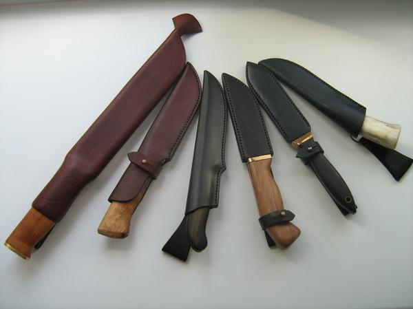 Ножны разные важны, ножны разные нужны... ручная работа, натуральная кожа, кожа, рукоделие без процесса, длиннопост