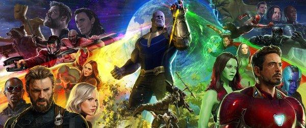 Полноценный постер Войны Бесконечности Marvel, мстители, Мстители: Война бесконечности