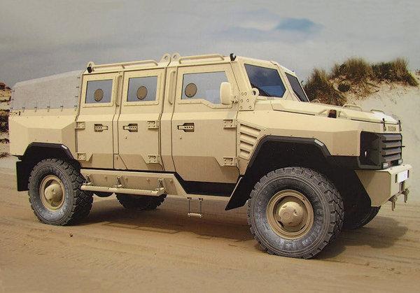 В России разработали новый бронированный внедорожник для армии Авто, Броневик, Dromru, Армия, Длиннопост