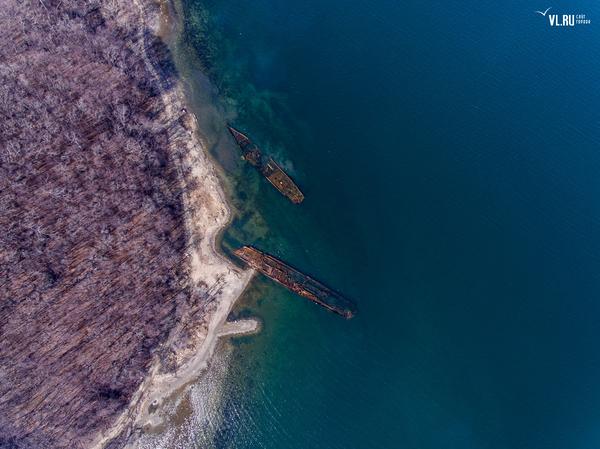 """Как """"доживают"""" свой век списанные суда и корабли в Приморье. владивосток, боевые корабли, Приморский край, длиннопост, море"""