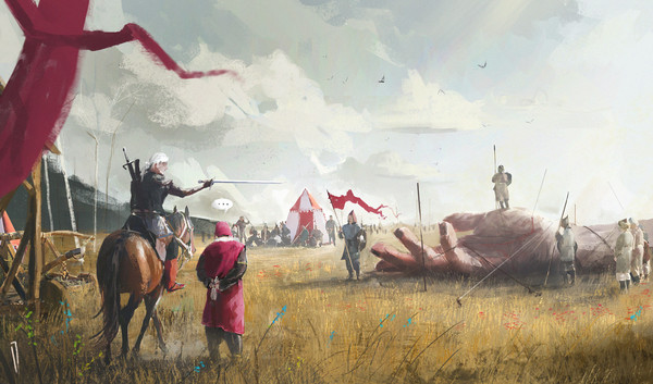 The Witcher Ведьмак, ведьмак 3, Геральт из Ривии, Арт, ismail inceoglu