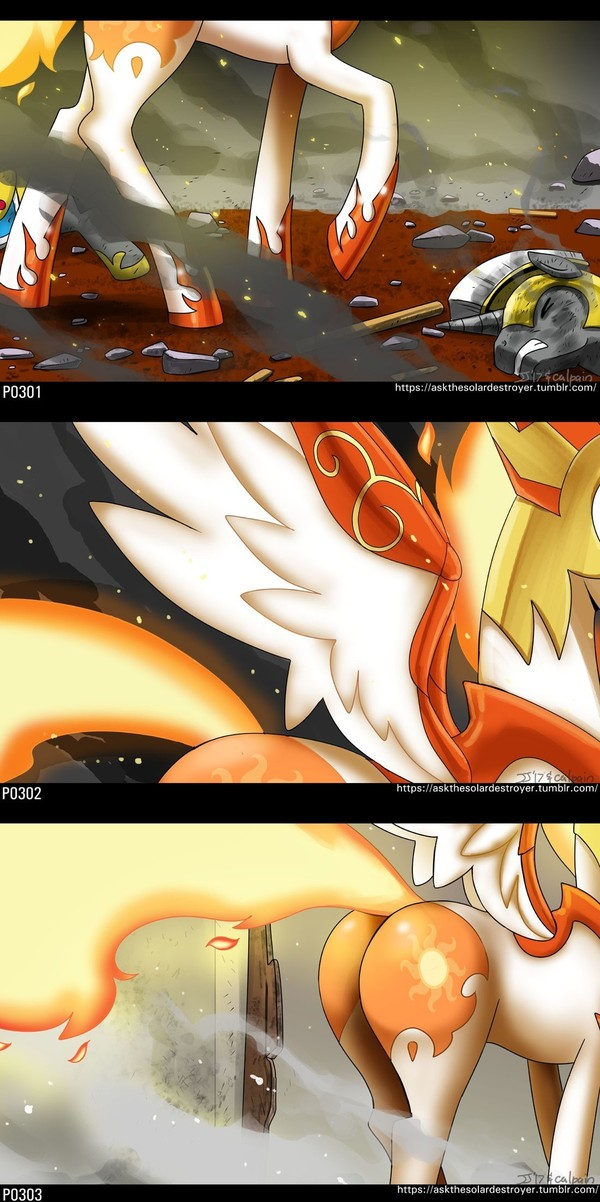 Solar Destroyer my little pony, Daybreaker, MLP Edge, johnjoseco