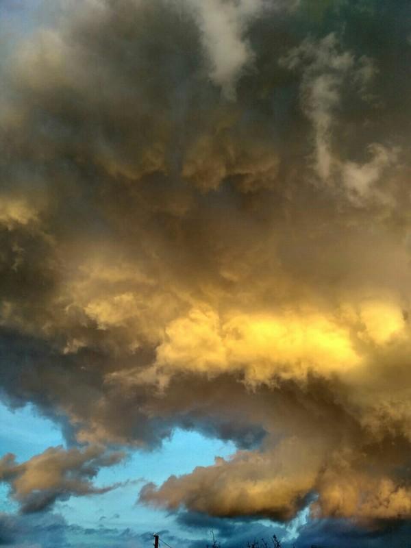 Когда небо больше про искусство, чем про погоду