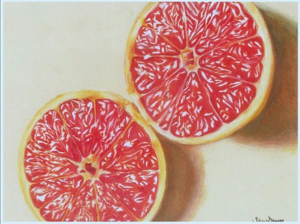 Грейпфрут источник reddit, рисунок карандашом, рисунок