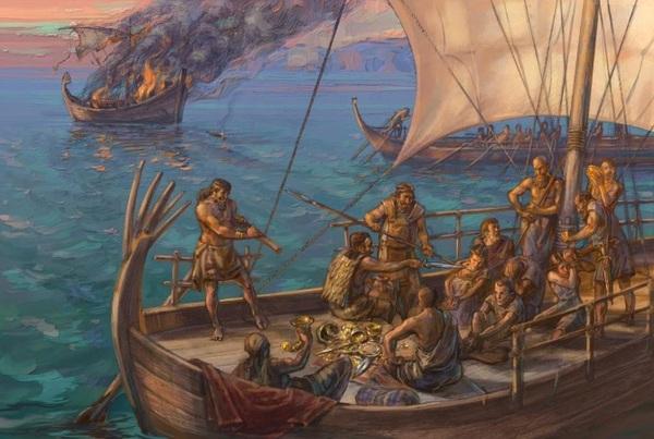 ПИРАТЫ АНТИЧНОСТИ и как их победили римляне под руководством Помпея Великого история, Интересное, познавательно, Рим, римская республика, помпей, пираты, длиннопост