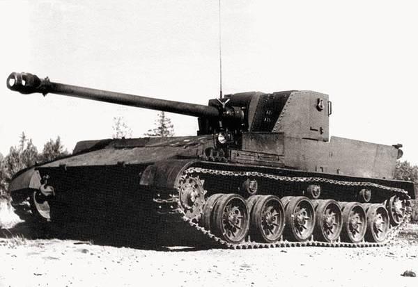 Самоходная артиллерийская установка СУ-100П Вооружение, Техника, Артиллерия, Великая Отечественная война, Длиннопост