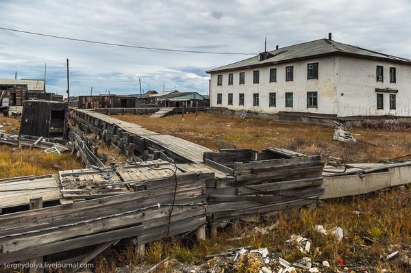 Поселок Апапельгино заброшенное, Апапельгино, длиннопост, без людей, livejournal, Чукотка