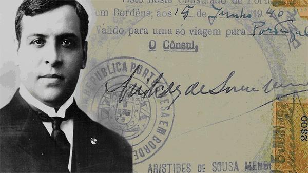 Португальский консул ослушался приказов диктатора страны ради спасения еврейских беженцев Евреи, Португалия, Аристидеш де Соуза Мендеш, Герои, Длиннопост