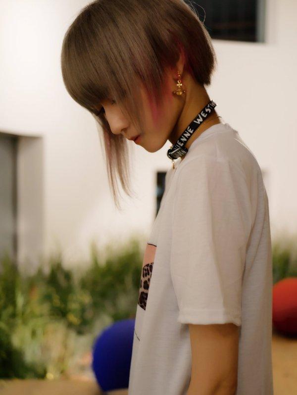 Хорошая футболка футболка, грудь, Сиськи, япония, Shiki Aoki, длиннопост