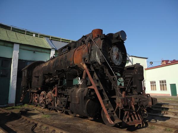 Паровоз Л-2197 в тамбовском депо