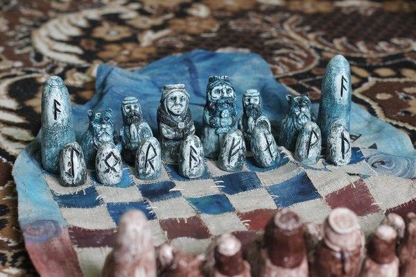 Еее!Закончил!) Шахматы, сувенир, подарок, заказ, гипсовые фигуры, длиннопост