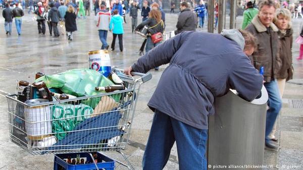 Каждый шестой житель Германии живет за чертой бедности. Германия, люди, бедность, кризис, длиннопост, деньги