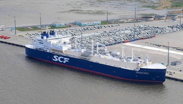 Ледокольный газовоз впервые отправился по СМП из Норвегии в Ю.Корею Северный морской путь, газовоз, танкер, Европа, Газ, Экономика, Россия, длиннопост