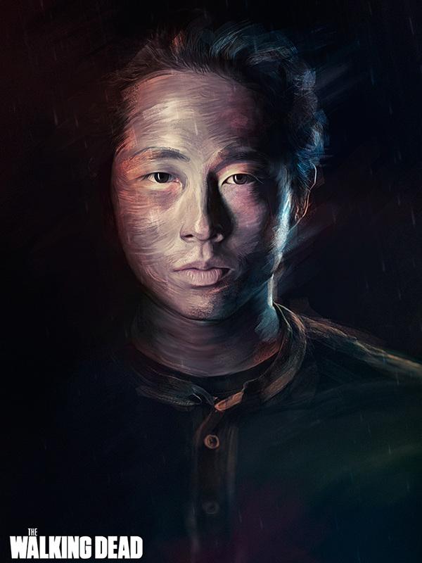 The Walking Dead арт, The walking dead, ходячие мертвецы, длиннопост