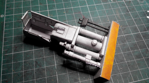 Сборка Tiger I от Халинского, часть 5. Башня. модель, моделизм, тигр, танки, длиннопост