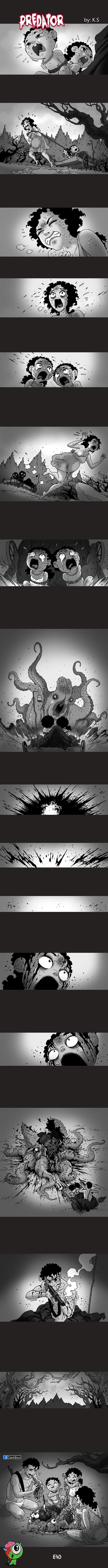 Хищник Silent horror, комиксы, длиннопост