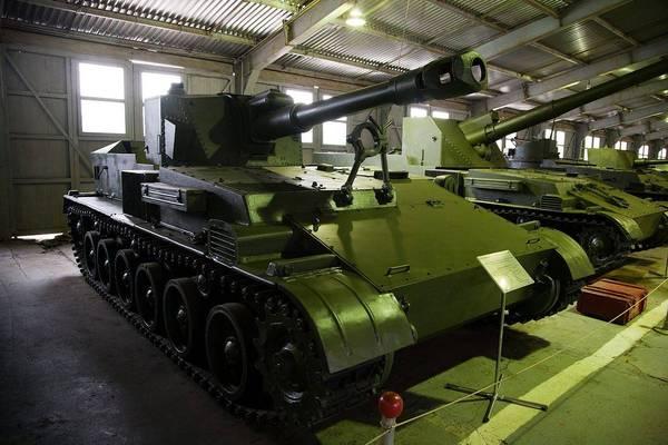 Самоходная артиллерийская установка СУ-152Г Вооружение, Техника, Артиллерия, Объект 108, Су-152г, Длиннопост