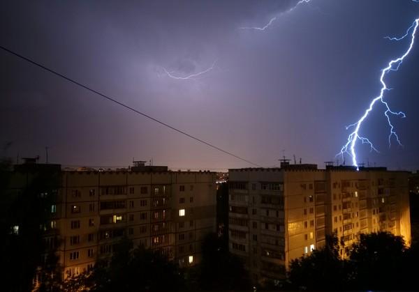 Гроза... погода, гроза, фотография, Харьков, длиннопост