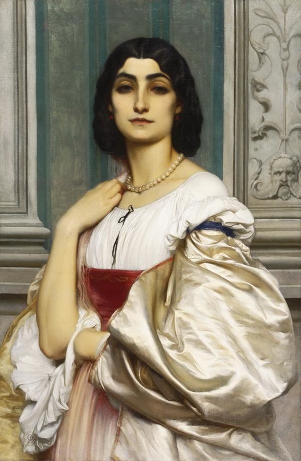 Фредерик Лейтон — Римлянка (Нанна), 1859