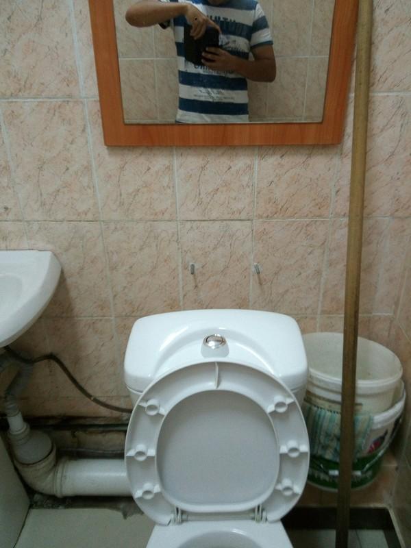 Зеркало зеркало, Туалет, работа, антитп, длиннопост