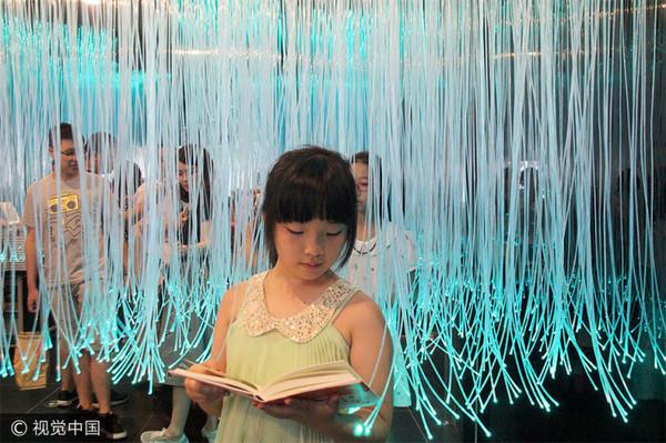 Для любителей почитать книги, книжный магазин, Чтение, дизайн, общение, красивое место, Дети, великий Китай, длиннопост