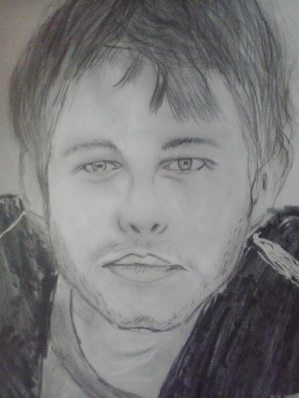Портрет портрет, Простые карандаши, рисунок, карандаш, длиннопост