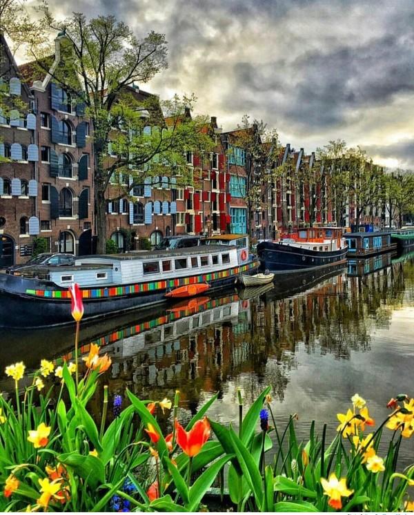 Живописный Амстердам