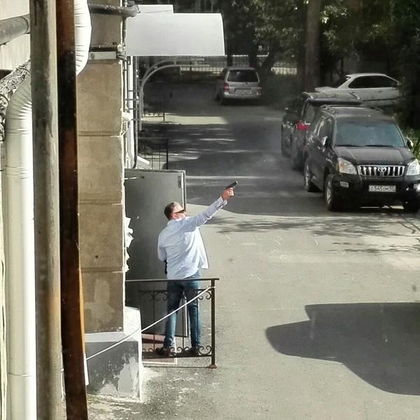 Обычный охотник на голубей в Омске омск, пистолеты, Голубь, Стрельба, Саратов vs Омск