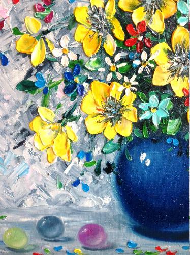 Моя мастихиновая живопись) Живопись, картина маслом, мастихин, арт, импасто, длиннопост