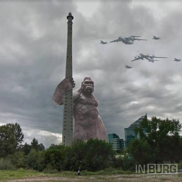 Когда Екатеринбург - город оживших блокбастеров Екатеринбург, Фильмы, искусство, длиннопост