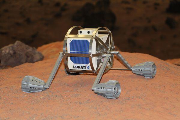 Хотели бы Вы сыграть в игру на Луне? Робот, космос, Луна, Геймеры, Игры