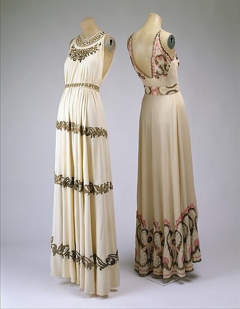 Невероятно элегантные вечерние платья 1930-х годов история моды, платье, вечернее платье, длиннопост
