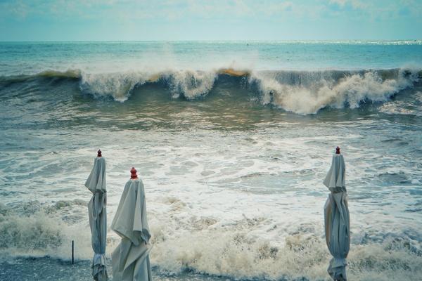 В Сочи немного штормило фотография, сочи, Шторм, Краснодарский Край, море, Побережье