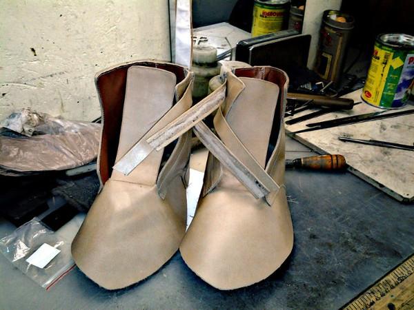 Процесс пошива обуви Nyxa, Обувь, Процесс, Длиннопост