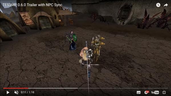Вышел кооп мод на The Elder Scrolls III: Morrowind TES III morrowind, morrowind, Кооператив, Игры