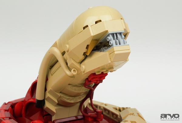 Лего Грудолом-Чужой из.. из модема? lego, Чужие, Чужой, Грудолом, Модем