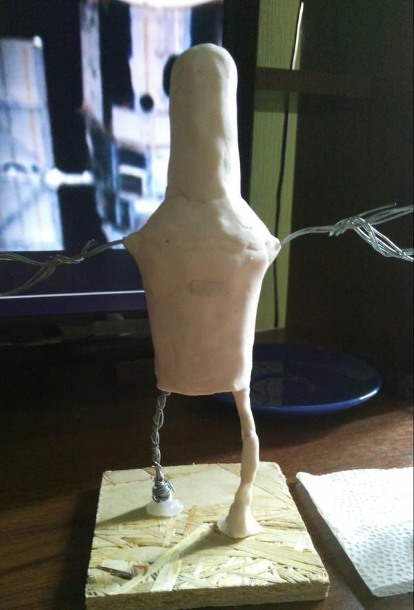 Бендер (футурама) из полимерной глины. Часть 1. фигурка, бендер, футурама, рукоделие с процессом, длиннопост, полимерная глина