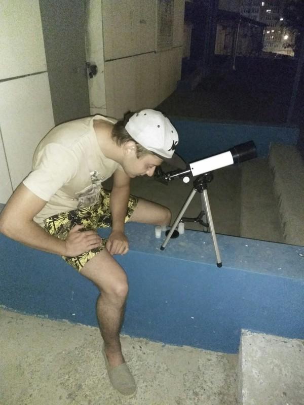 Лунное затмение в Иркутске Иркутск, Иркутская область, Луна, Затмение, телескоп, Наблюдение, длиннопост