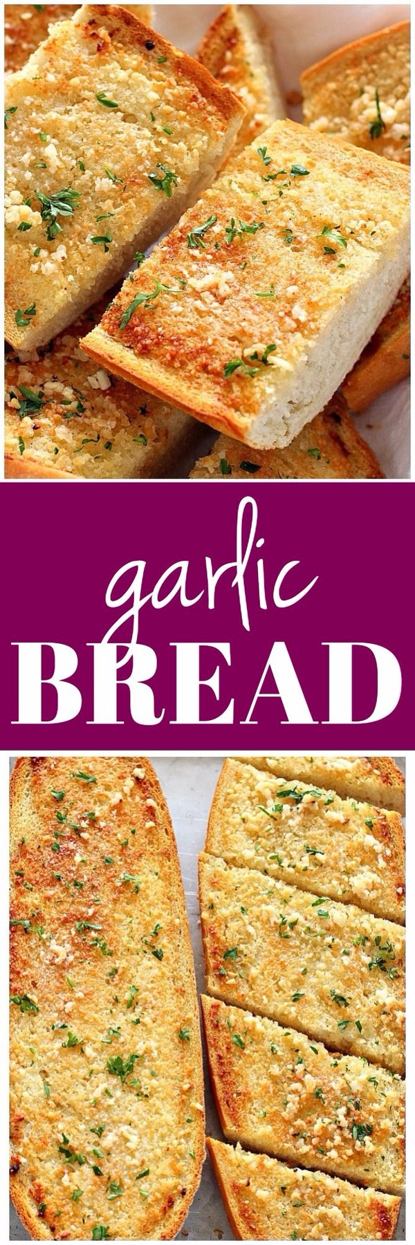 Рецепт чесночного хлеба рецепт, хлеб, готовка, чесночный хлеб, длиннопост