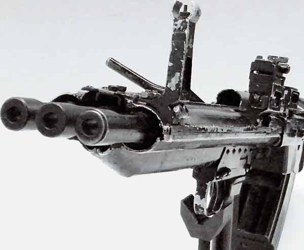 Трехствольный автомат Коробова 3Б и ТКБ-059 Оружие, Автомат, Трёхствольный, длиннопост