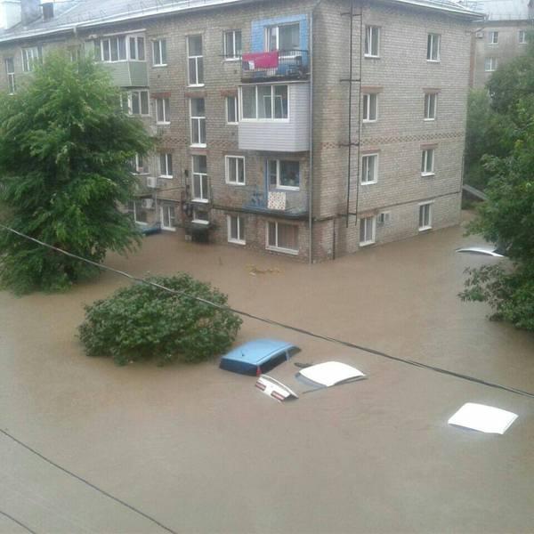 Уссурийск после урагана. ураган, наводнение, Приморский край, чрезвычайная ситуация, погода, хреновая погода, дальний восток