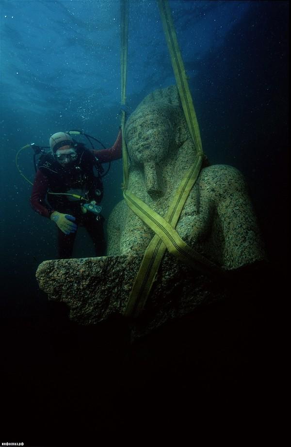 Ушедшие под воду города Затопленные города, археология, длиннопост