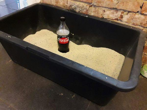 Решение проблемы или немножко психанули кот, проблема, выход, coca-cola