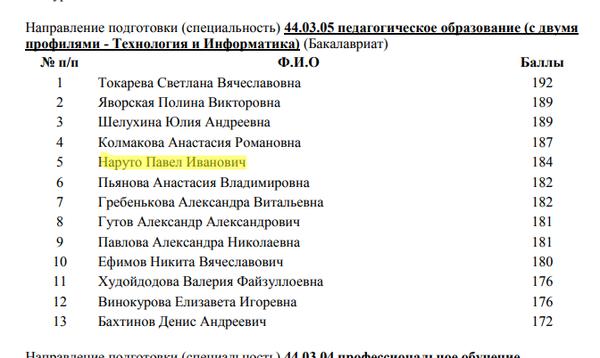 Кажется у кого-то будут  очень веселые студенческие годы ))