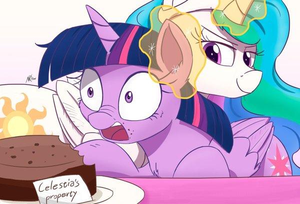 Собственность Селестии my little pony, Twilight Sparkle, Princess Celestia
