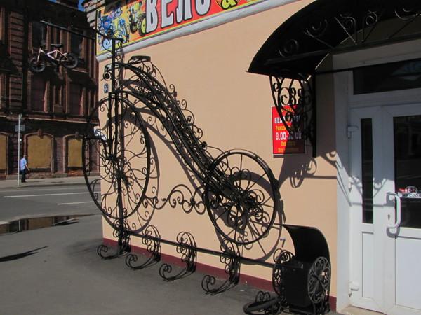 Велосипедная парковка в Бобруйске
