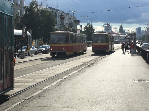 Немного Екатеринбургских трамвайчиков Трамвай, Екатеринбург, электротранспорт